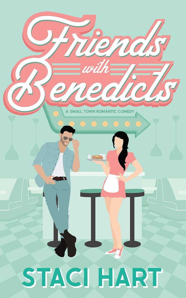 Cover Reveal Friends with Benedicts by Staci Hart